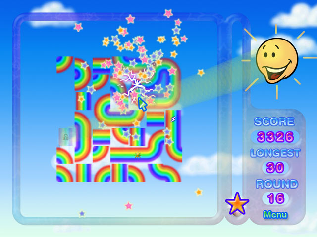 Click To Download Rainbow Ruffle