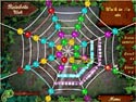 in-game screenshot : Rainbow Web (pc) - Caught in a web of matching fun.