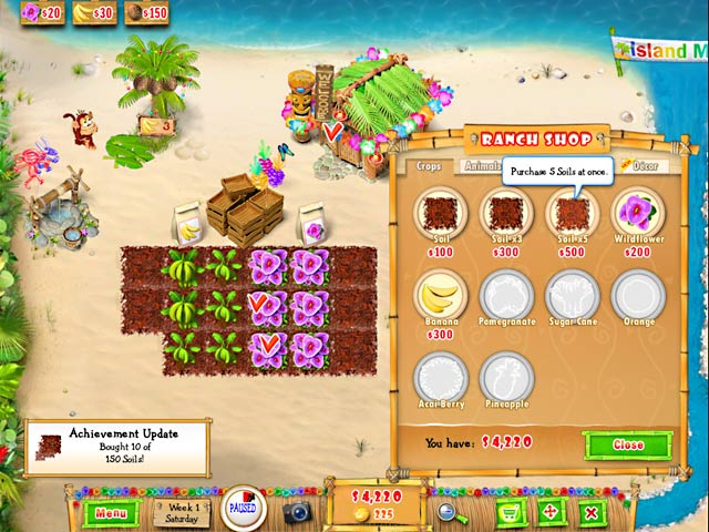 Ranch Rush 2 - Sara's Island Experiment Screenshot http://games.bigfishgames.com/en_ranch-rush-2-saras-island-experiment/screen2.jpg