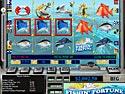 in-game screenshot : Reel Deal Slots: Fishin' Fortune (pc) - Do some deep sea fishing!