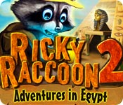 Ricky Raccoon 2: Adventures in Egypt Game Featured Image