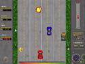 in-game screenshot : Road Attack (og) - Gun it in every sense!