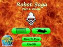 in-game screenshot : Robot Saga (og) - Escape from evil robots in Robot Saga!