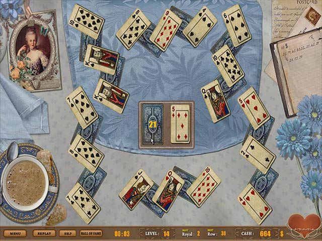Gra Royal Challenge Solitaire Gra Bezpłatne