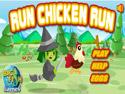 in-game screenshot : Run Chicken Run (og) - Escape a witch and Run Chicken Run!