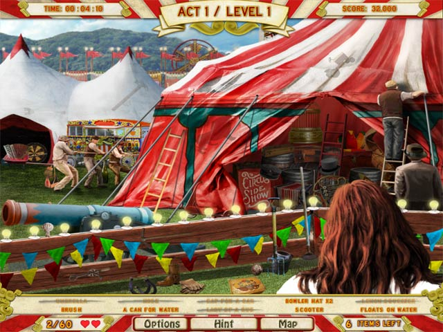 Runaway With The Circus Game Play