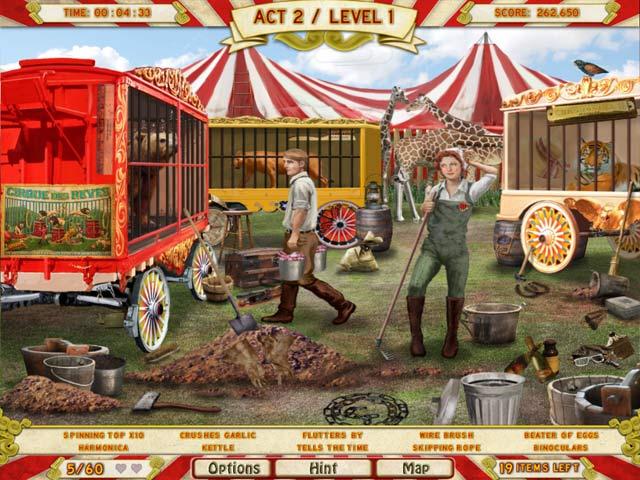 Runaway With The Circus: Screenshot 2