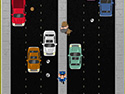 in-game screenshot : Rush (og) - Survive the traffic Rush!