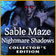 Buy PC games online, download : Sable Maze: Nightmare Shadows Collector's Edition