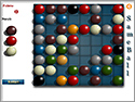 in-game screenshot : Sameball (og) - A maddening Match-3 puzzle!