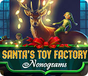 Santa's Toy Factory: Nonograms Game Featured Image