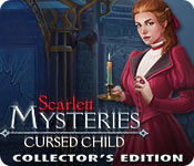 Scarlett Mysteries: Cursed Child Collector's Edition Game Featured Image