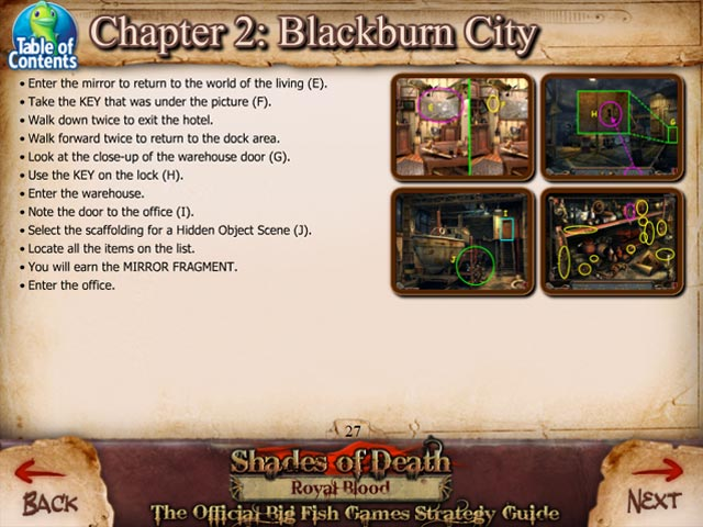 Shades of Death: Royal Blood Strategy Guide Screenshot-3