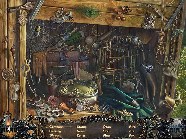 Shadow Wolf Mysteries: Bane of the Family Collector's Edition - Screenshot