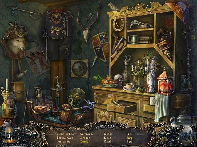 Gra Shadow Wolf Mysteries: Curse of the Full Moon Collector's Edition Gra Bezpłatne