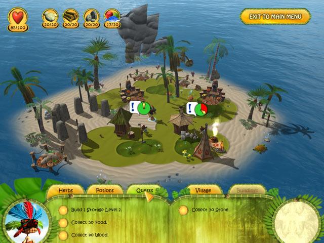 Gra Shaman Odyssey – Tropic Adventure Gra Bezpłatne