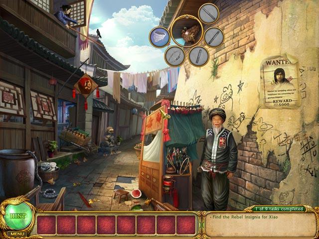 Gra Shaolin Mystery: Tale of the Jade Dragon Staff Gra Bezpłatne