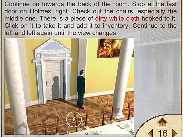 Sherlock Holmes: The Secret of the Silver Earring Strategy Guide Screenshots