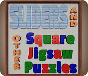 Sliders and Other Square Jigsaw Puzzles Game Featured Image