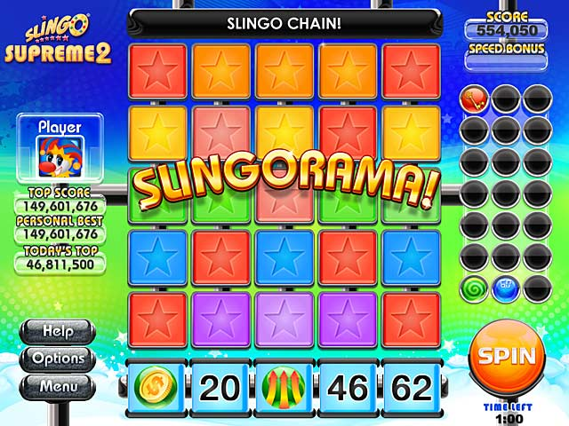 Slingo Supreme 2 Screenshot http://games.bigfishgames.com/en_slingo-supreme-2/screen2.jpg