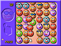 in-game screenshot : Smiley Puzzle: Girl Edition (og) - Match your way to a smiley day.