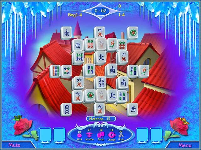 Bezpłatne pobieranie Snow Queen Mahjong