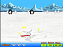 in-game screenshot : Snowball Fight (og) - Join a Snowball Fight against penguins!