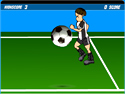 in-game screenshot : Soccer Ball (og) - Juggle a Soccer Ball with your mouse!
