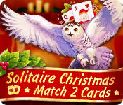 Solitaire Christmas Match 2 Cards Game Featured Image