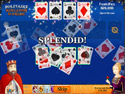 in-game screenshot : Solitaire Kingdom Supreme (pc) - A new way to play Solitaire!