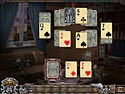 in-game screenshot : Solitaire Mystery: Stolen Power (pc) - Find the magic cards!