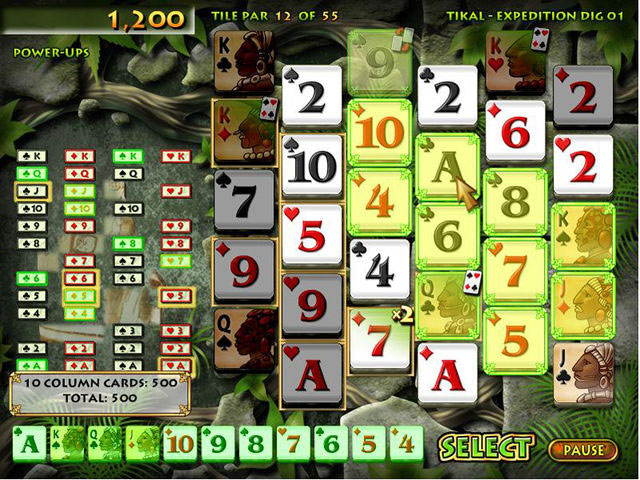Solitaire Pop Screen Shot 1