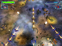 in-game screenshot : Space Strike (pc) - Fly as a pilot on a recon mission.
