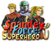 Spandex Force: Superhero U Game Featured Image
