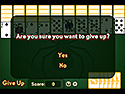 Screenshot: Spider Solitaire Game