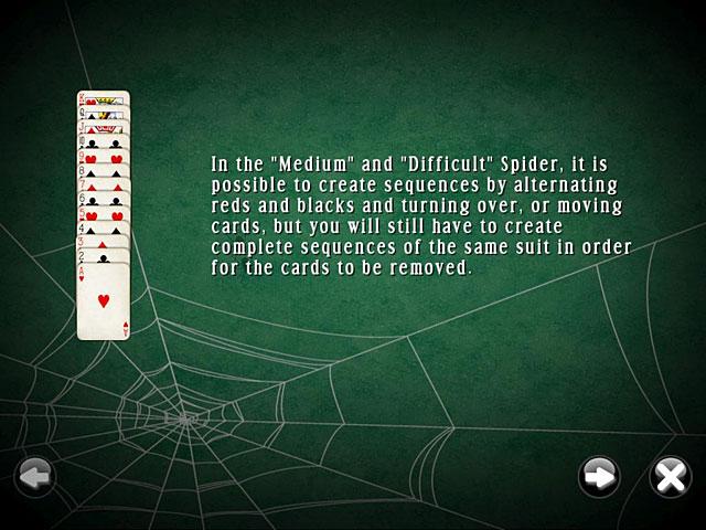 Gra SpiderMania Solitaire Gra Bezpłatne