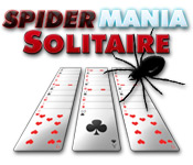 SpiderMania Solitaire - Featured Game!