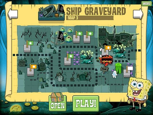 SpongeBob Atlantis SquareOff - Journey across the ocean floor.
