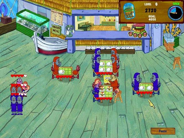 Bezpłatne pobieranie Spongebob Diner Dash 2