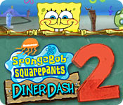 SpongeBob SquarePants Diner Dash 2 Feature Game