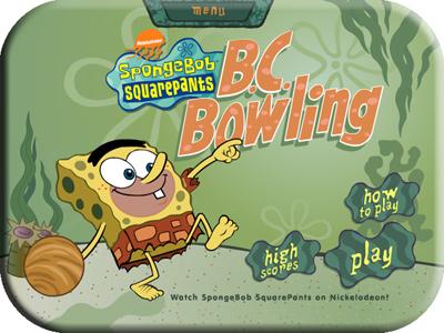 نتابع معكم العاب سبونج بوب الرااائعة مع لعبة .SpongeBob SquarePants B Screen1