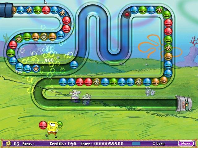 Screens Zimmer 6 angezeig: spongebob 3d game