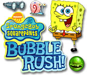 SpongeBob SquarePants Bubble Rush! Game Featured Image