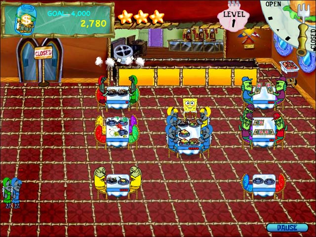 Sponge Bob Game Wallpaper