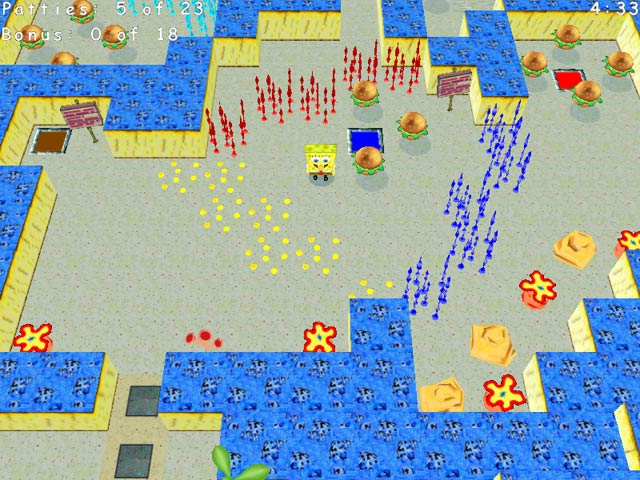Click To Download SpongeBob SquarePants Krabby Quest
