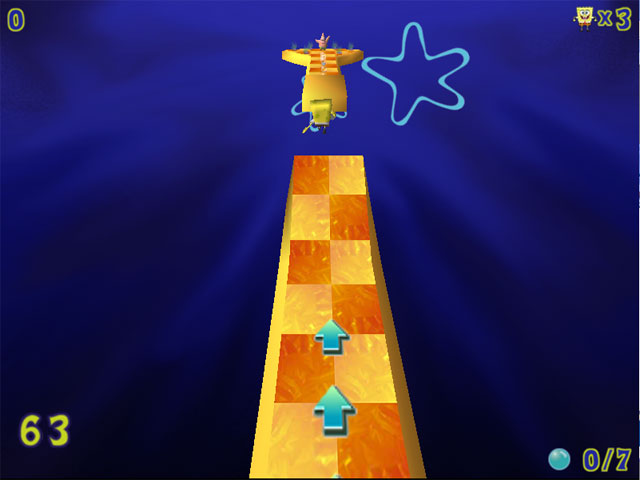 SpongeBob SquarePants Obstacle Odyssey cheats
