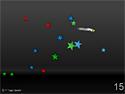 in-game screenshot : Squeezed (og) - Avoid shooting stars!