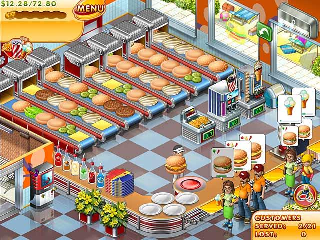 Gra Stand O'Food 3 Gra Bezpłatne