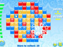 in-game screenshot : Star Blocks (og) - Rotate the pieces around in Star Blocks!