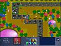 in-game screenshot : Star Obelisc (og) - Defend your home from bizarre invaders!